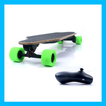 Wireless Cruise Control Green Remote Electric Skateboard
